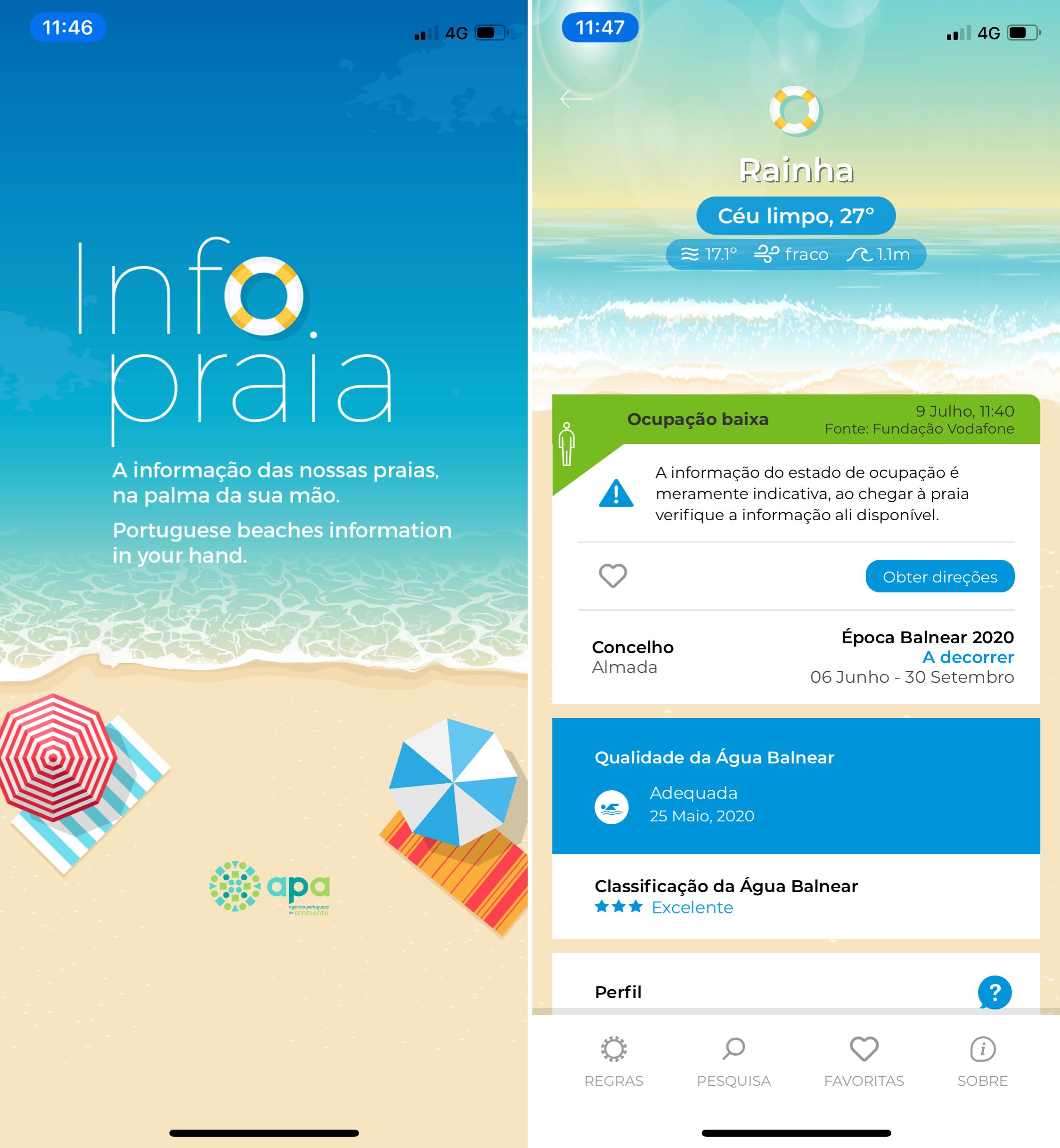 Info Praia