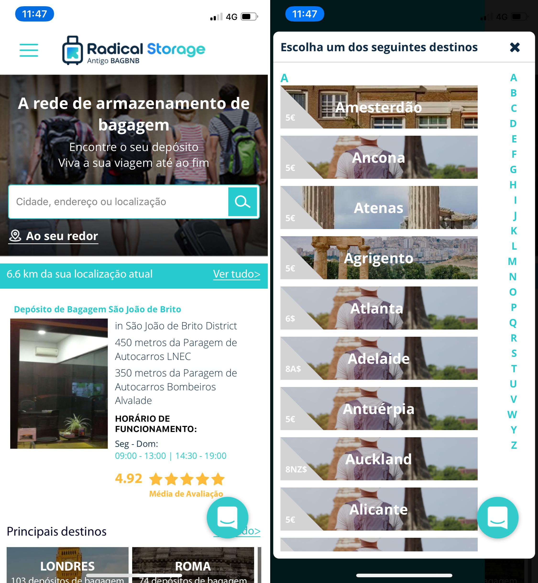 Radical - Luggage Store
