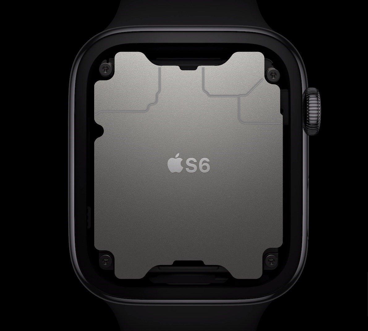 Ilustração do processador S6