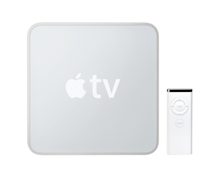 Primeira box Apple TV