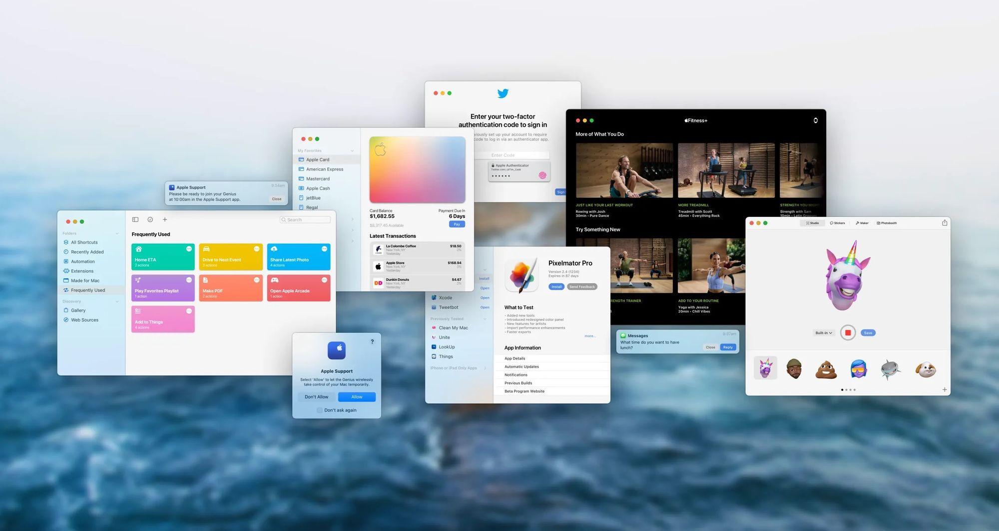 Resumo das novidades do macOS Monterey