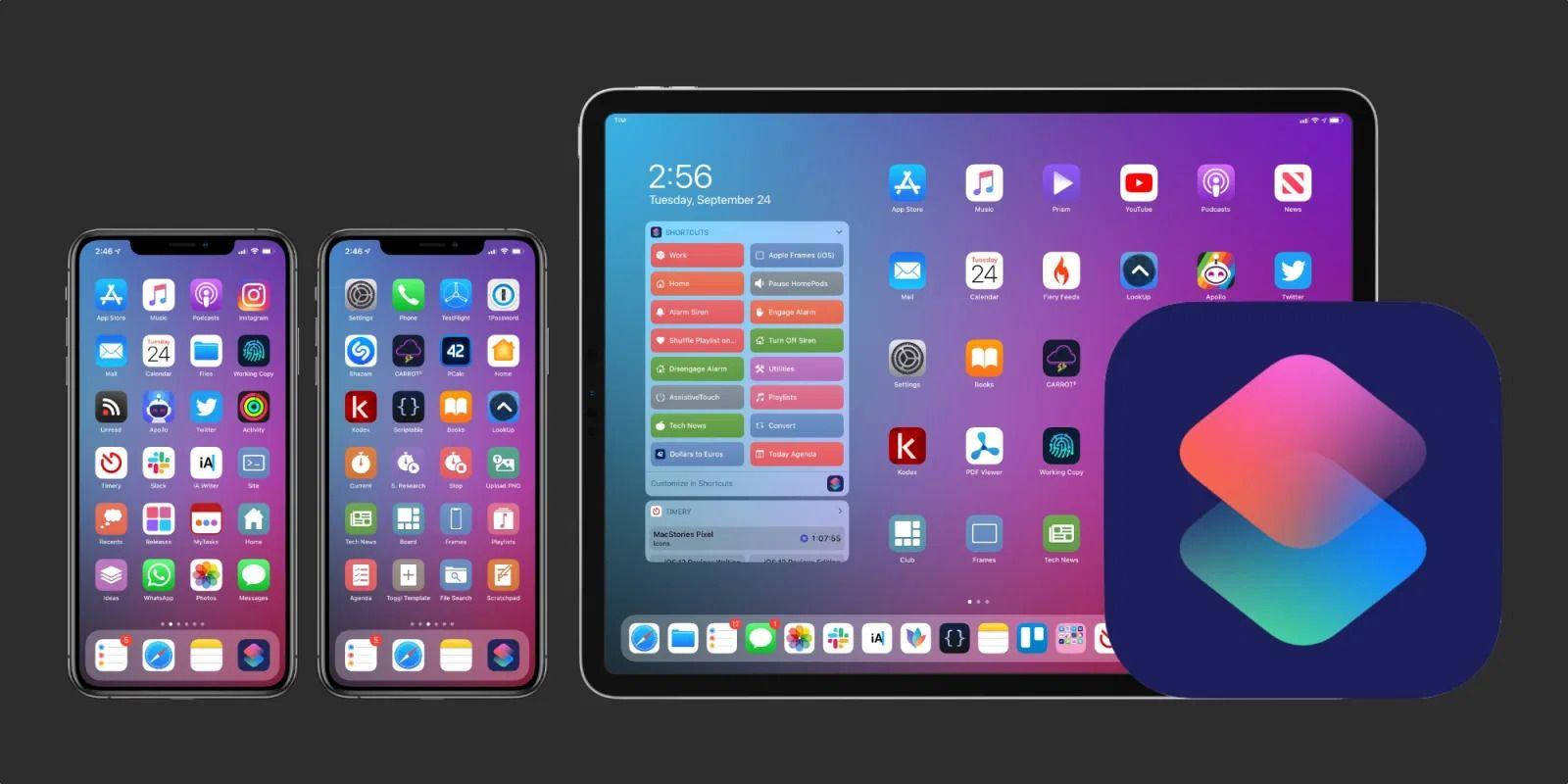 Aplicação Atalhos do iOS (iOS shortcuts)