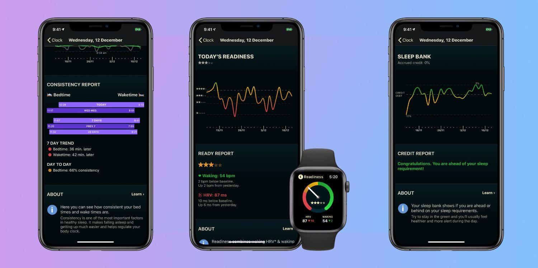 AutoSleep no iPhone e Apple Watch