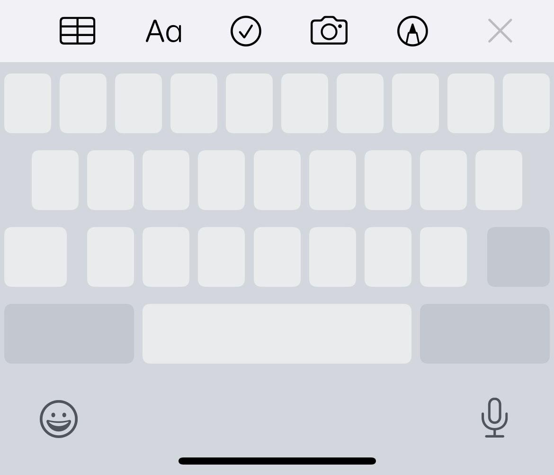 Mover o cursor no teclado do iPhone