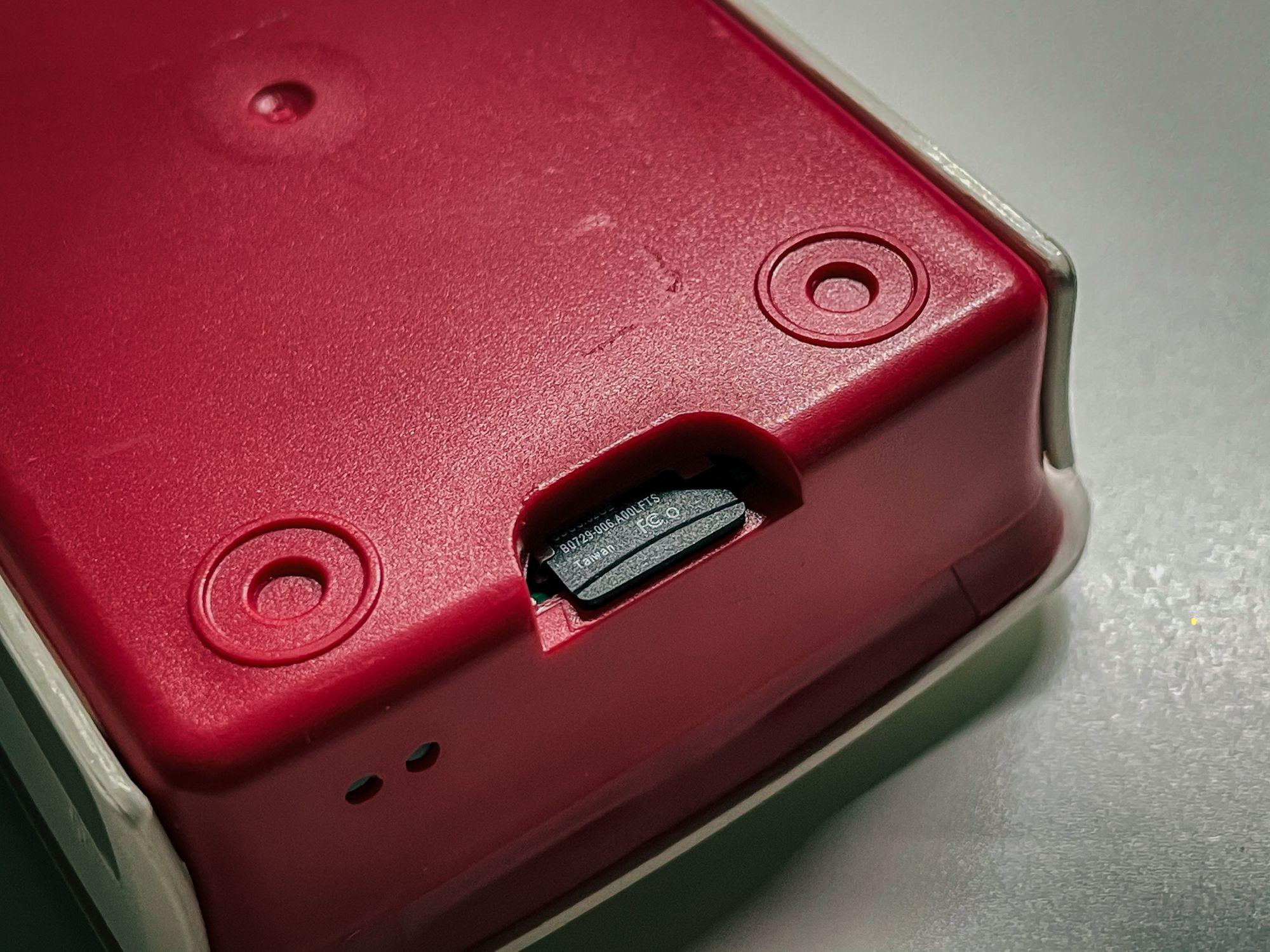 Cartão SD no Raspberry Pi Homebridge