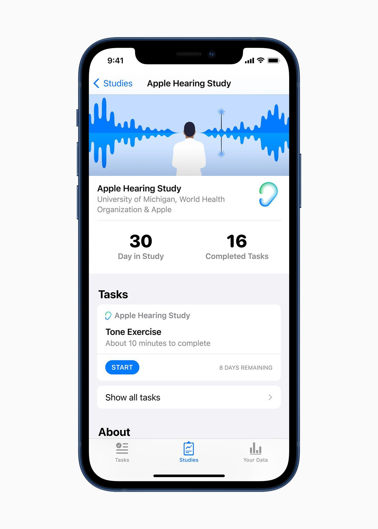 Apple Research: Apple Hearing Study