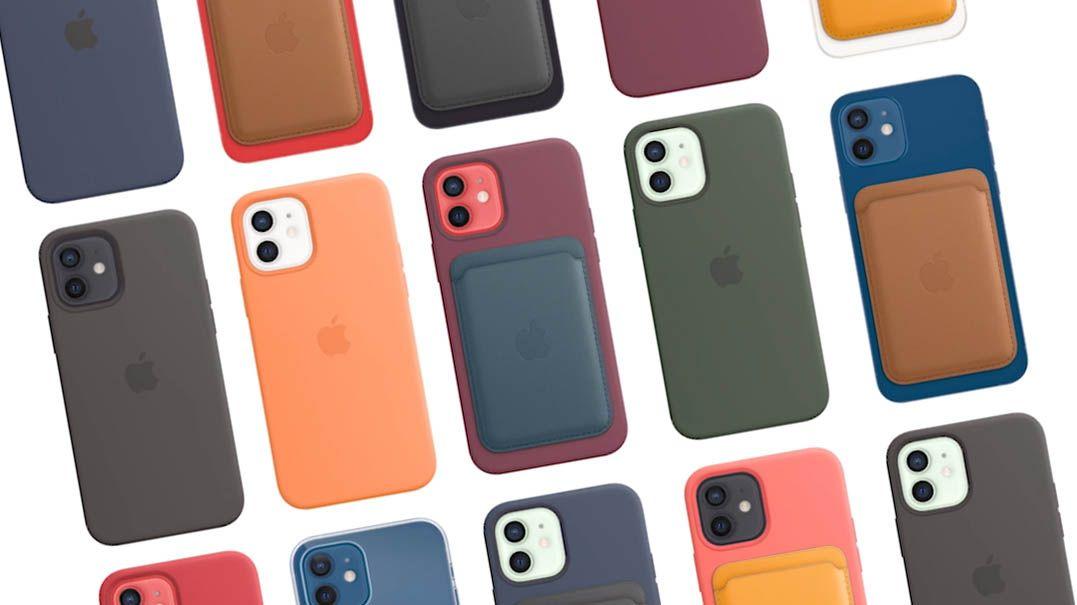 Capas do iPhone comercializadas pela Apple com MagSafe
