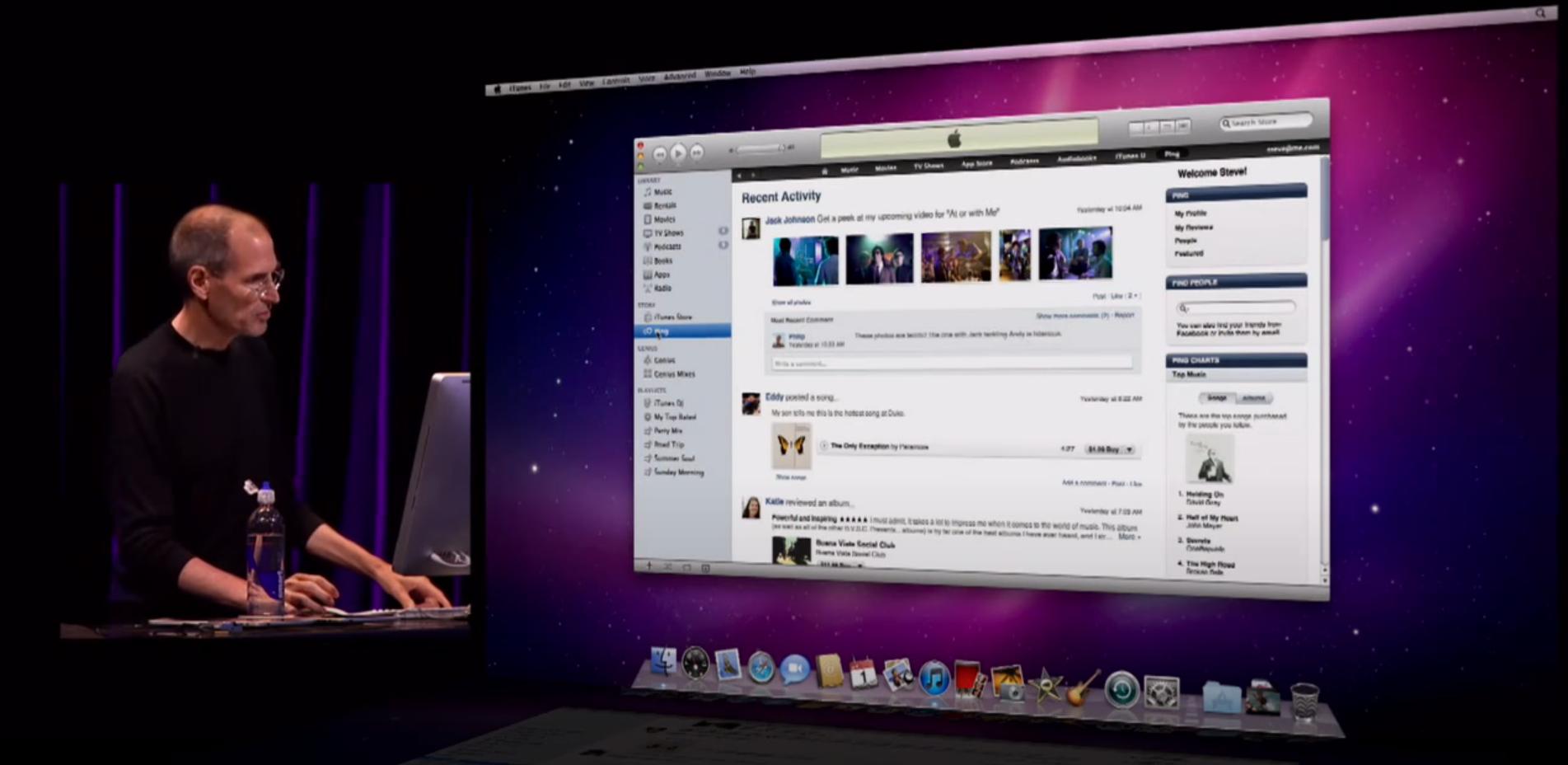 Apple Ping (2010)