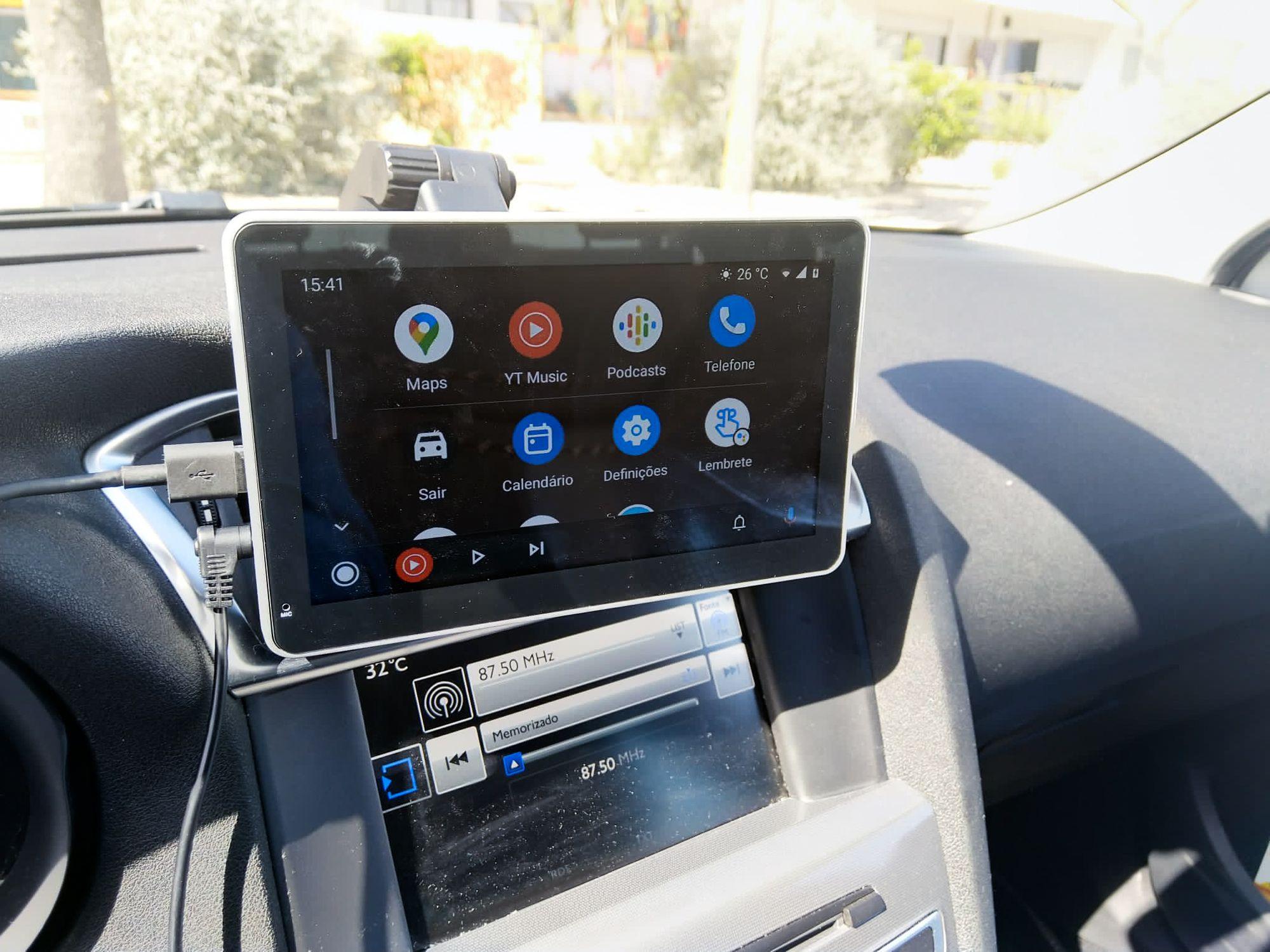 Android Auto/MirrorLink no Coral Vision CarPlay