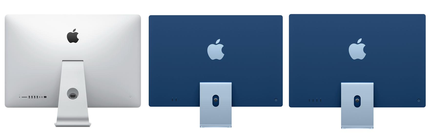 Portas iMac M1 e Intel