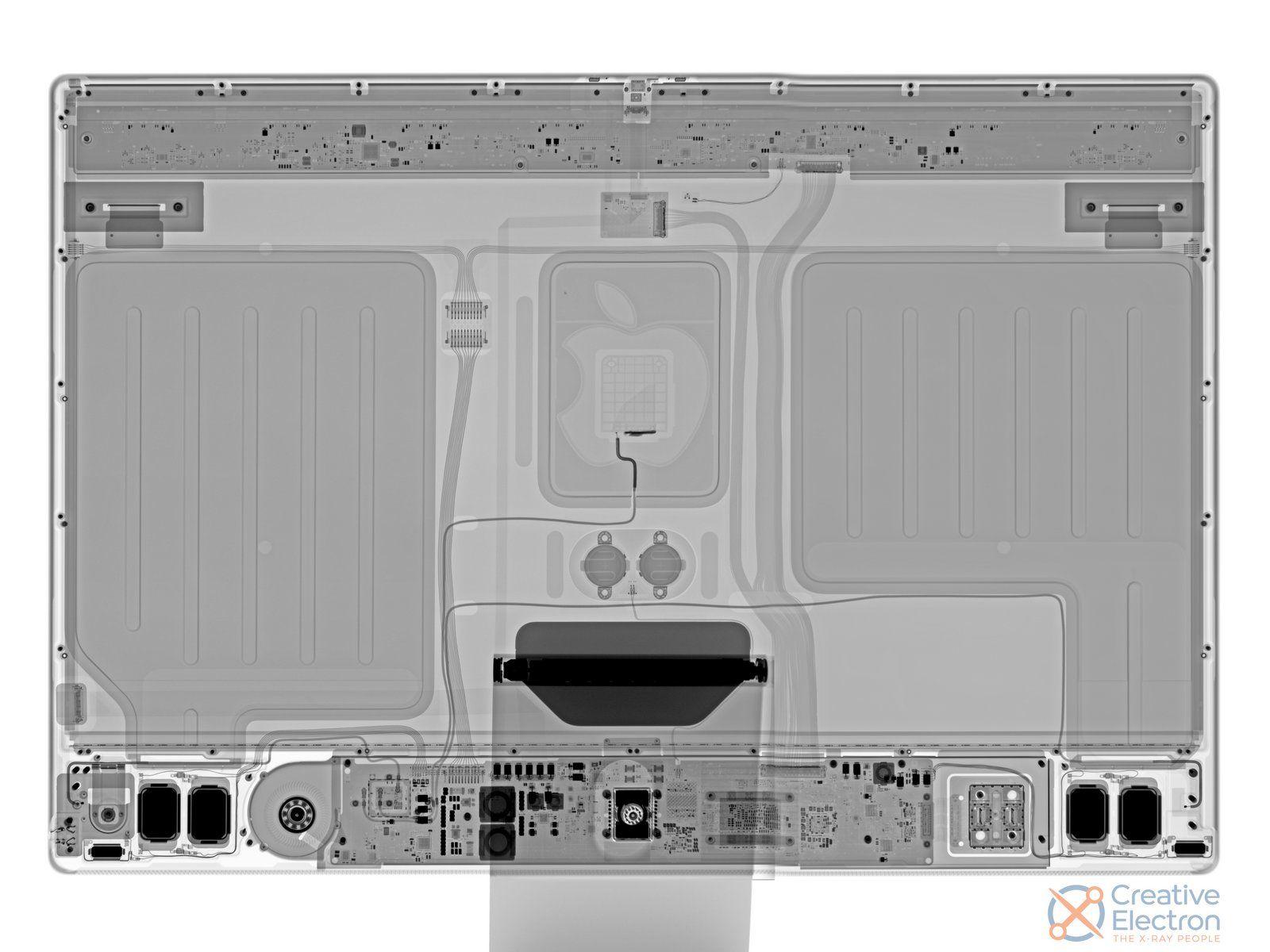 Raio-X ao iMac de 24'' com processador M1 da Apple