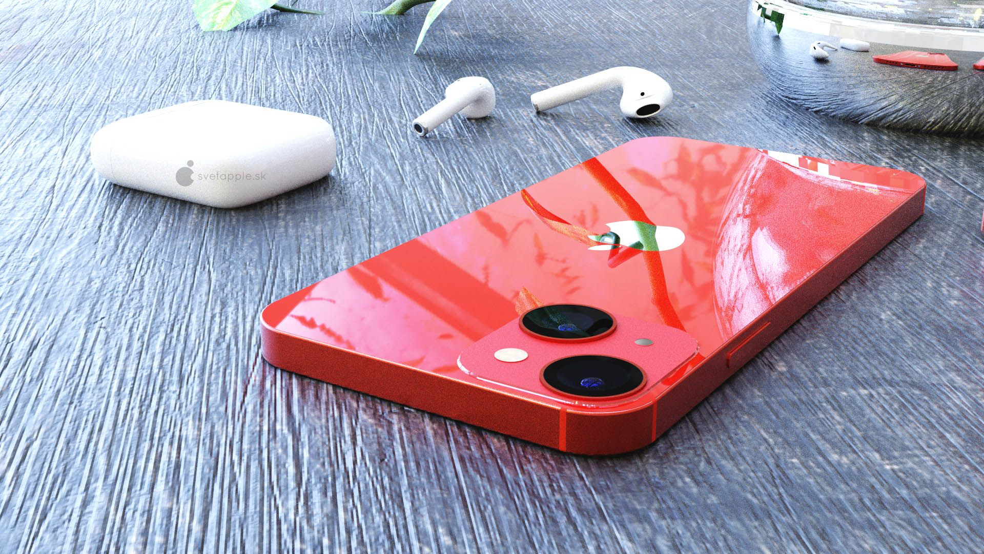 Disposição diagonal das câmaras nos modelos base do iPhone 2021