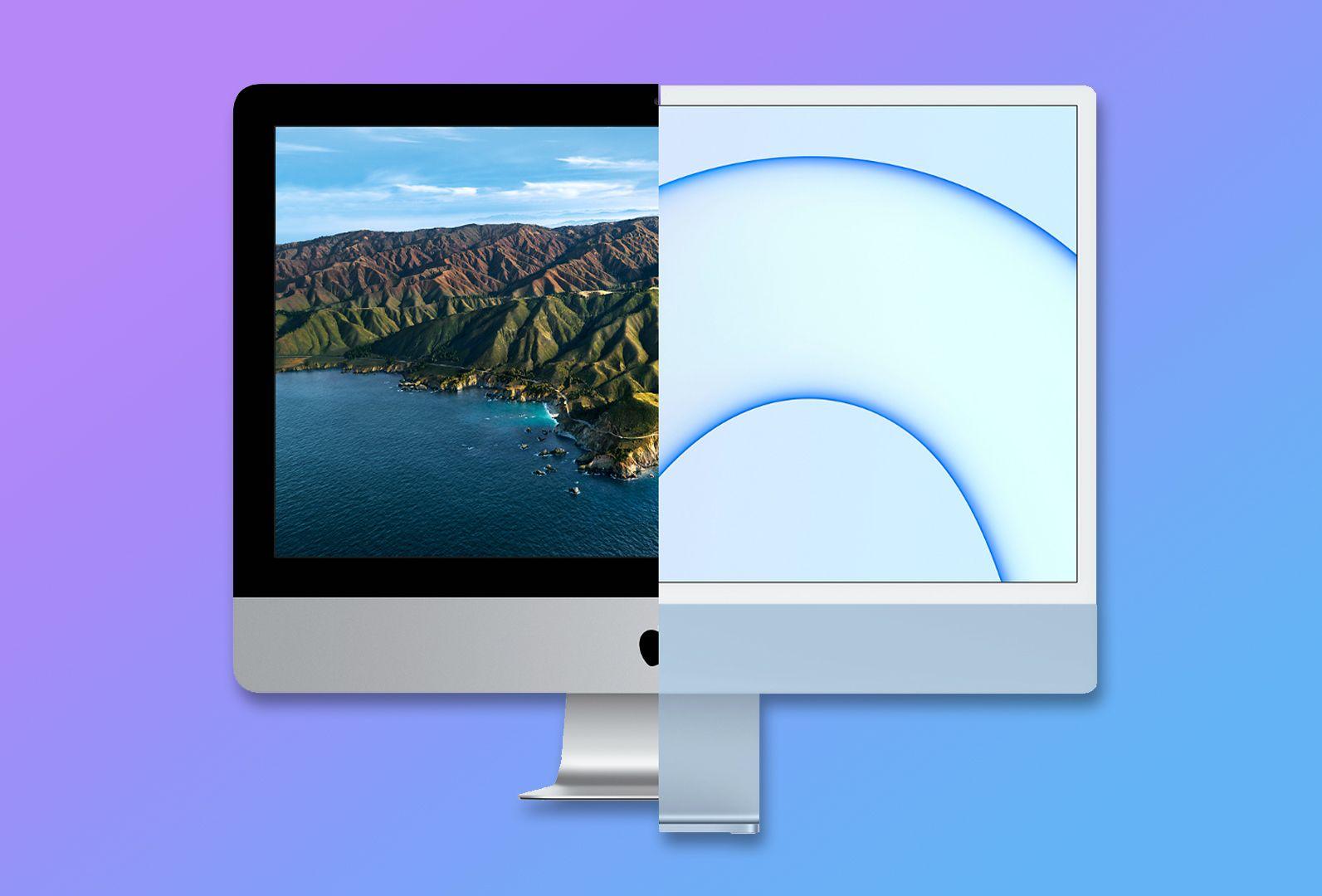 iMac Intel vs iMac M1