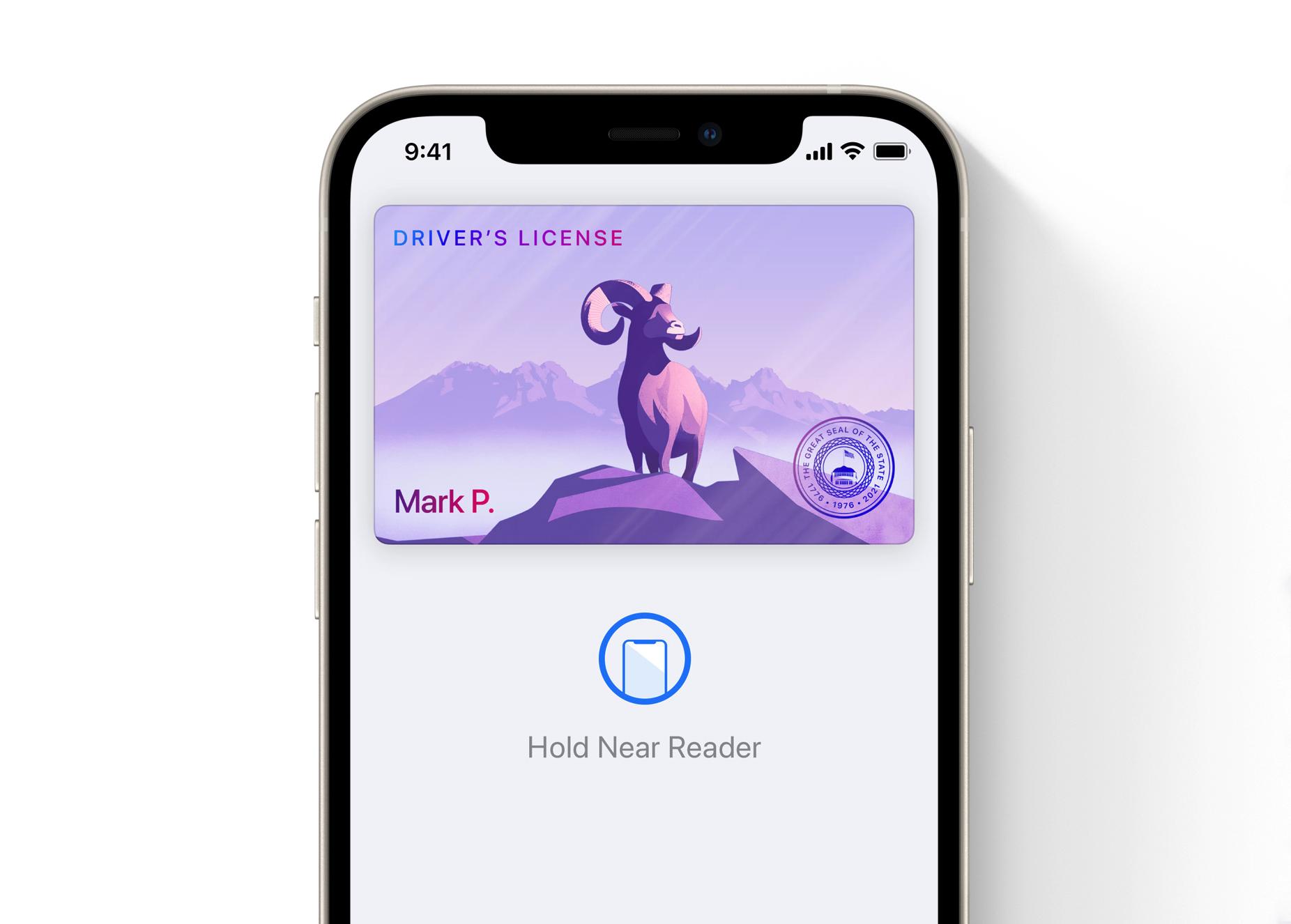 iOS 15 - IDs Digitais na app Carteira