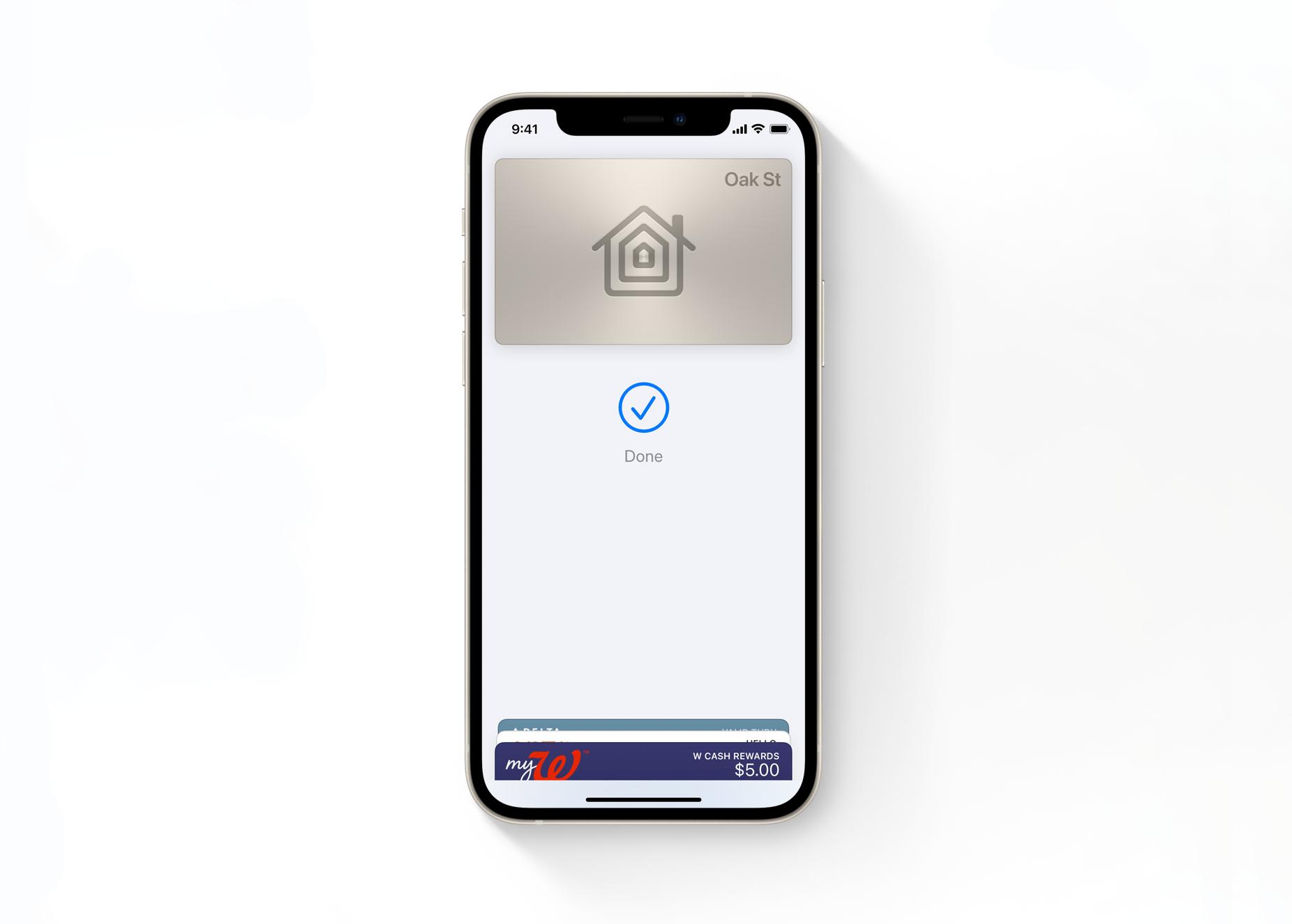 iOS 15 - Chaves Digitais na app Carteira Wallter