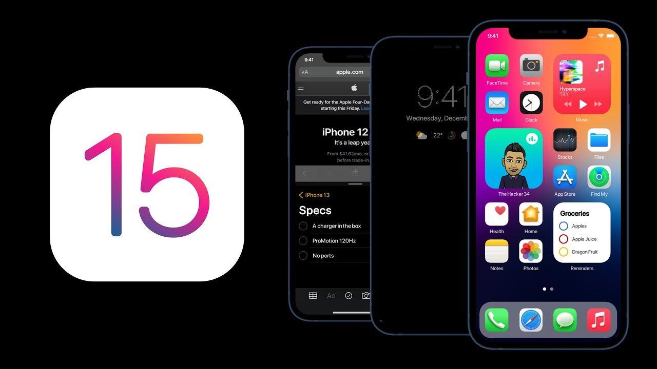 iOS 15 | Fonte: Tech Bit
