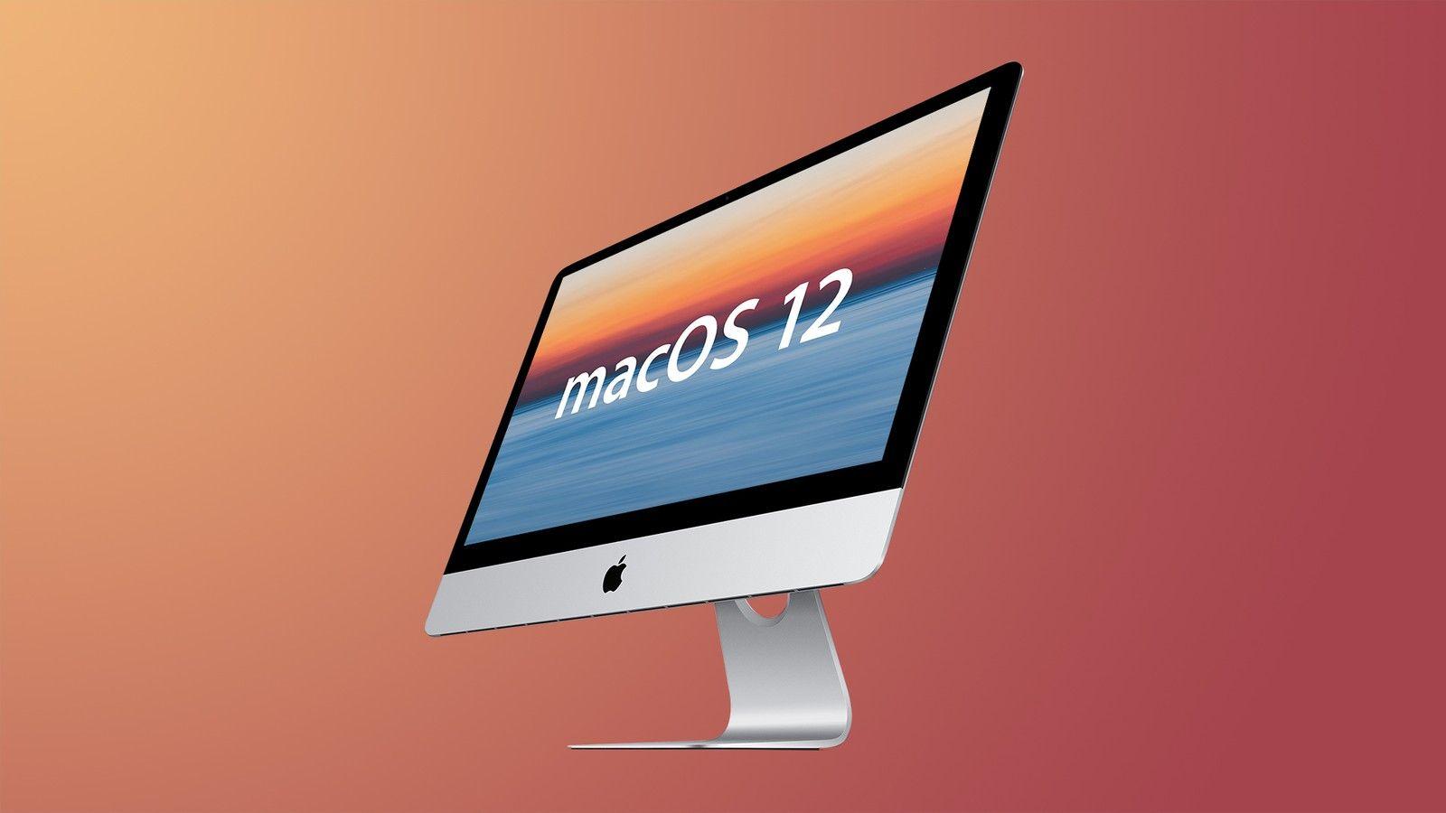 macOS 12 | Fonte: MacRumors