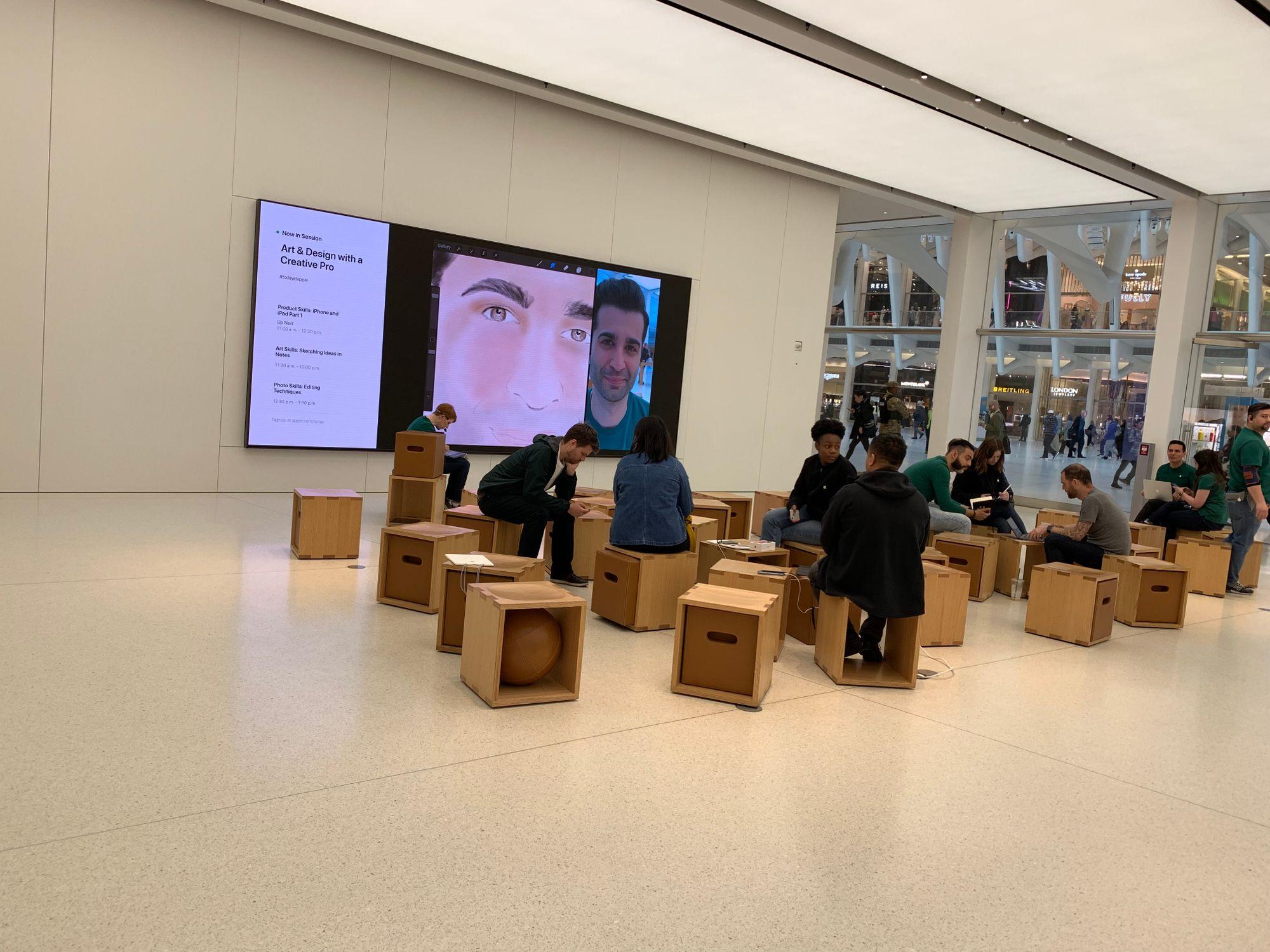 Apple Store World Trade Center, Nova Iorque