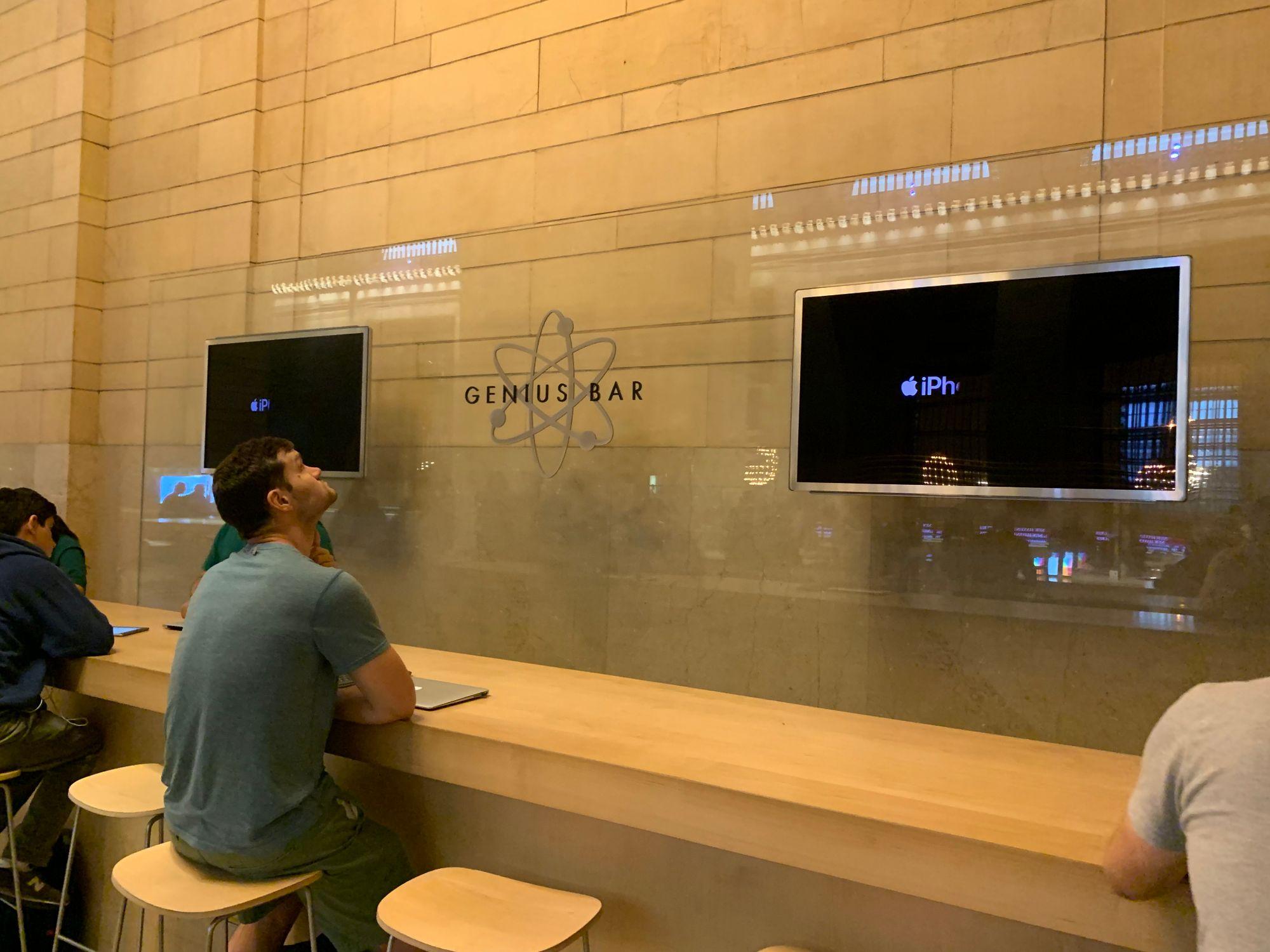 Genius Bar Apple Store Grand Central, Nova Iorque