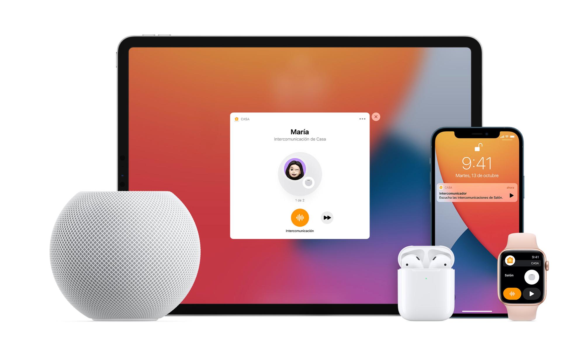Ecossistema com HomePod Mini   Fonte: Apple