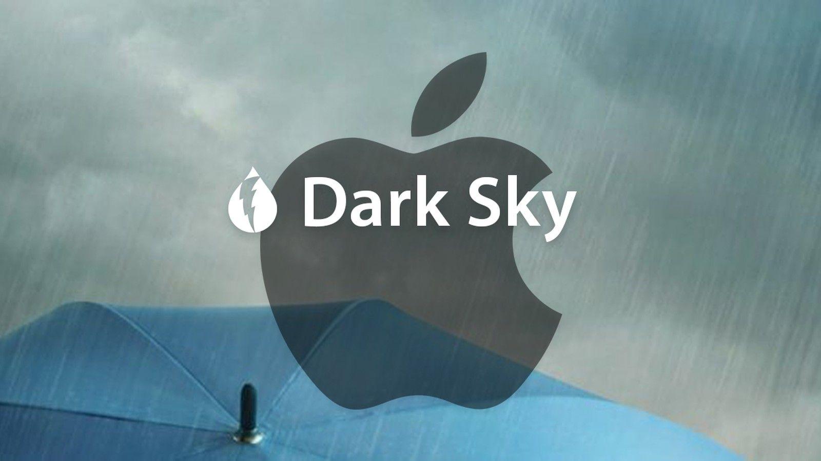 Dark Sky agora detida pela Apple