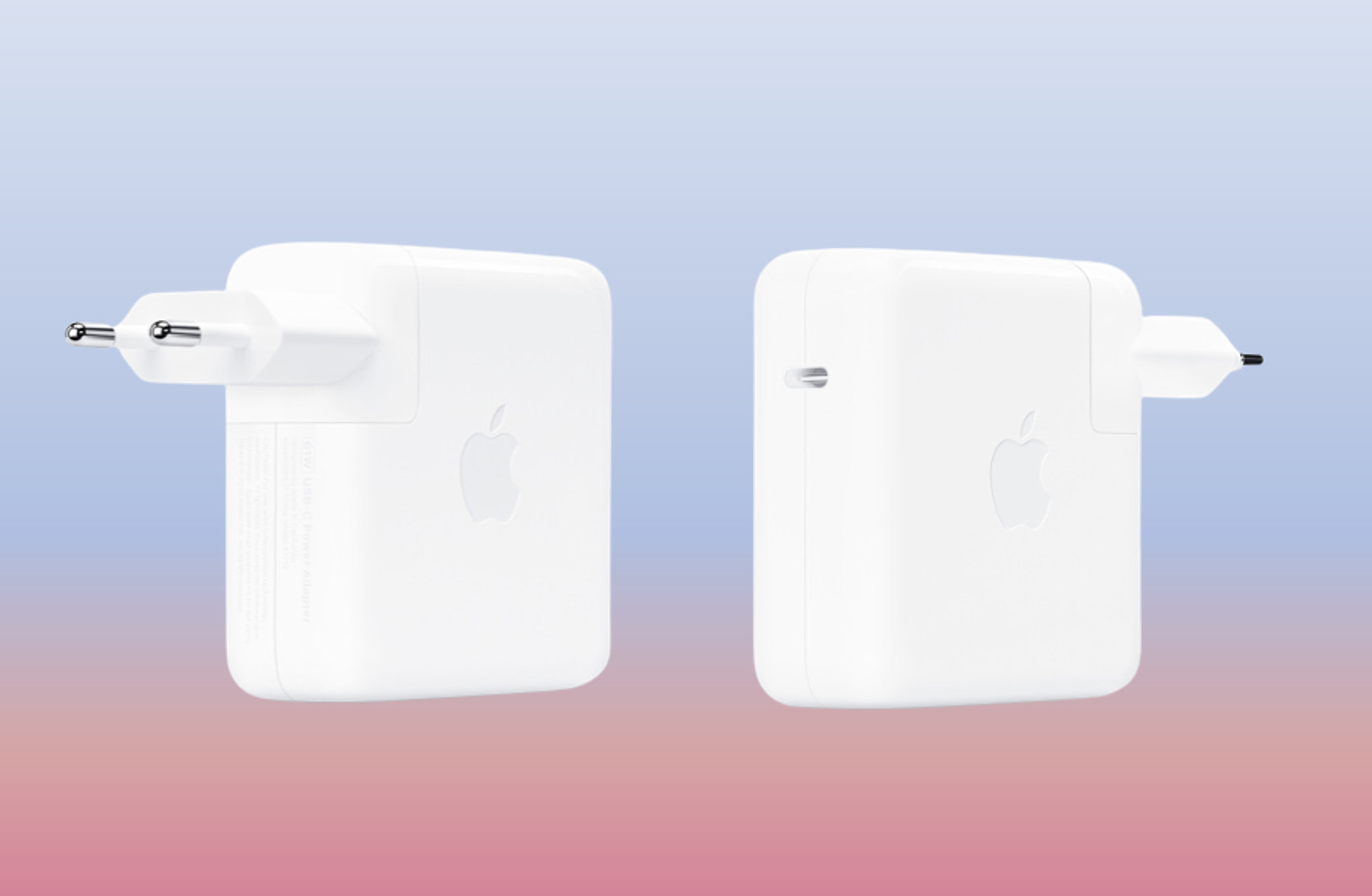 Adaptador de corrente Apple USB-C | Fonte: Apple