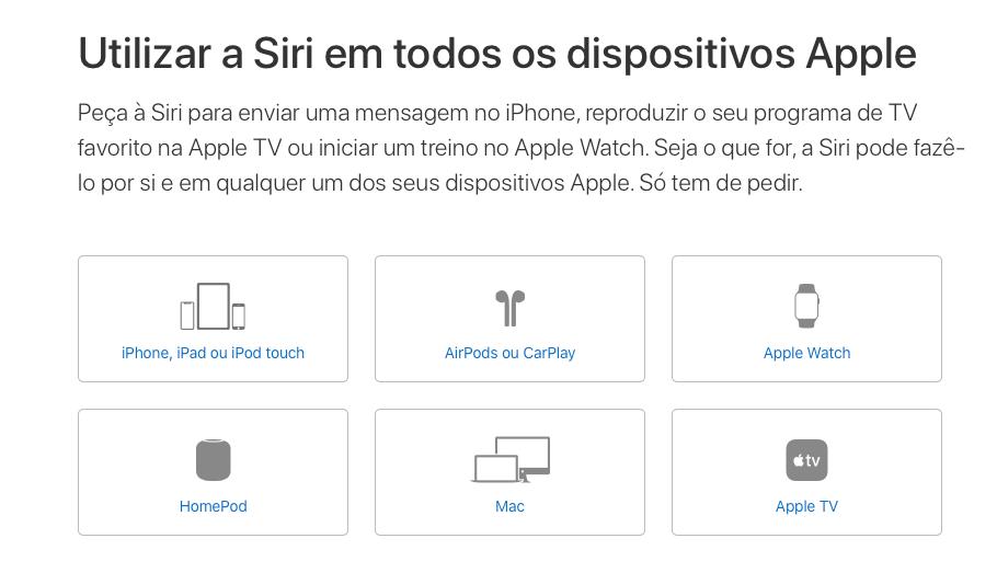 Lá dar, dá... mas em português do Brasil. | Fonte: Apple