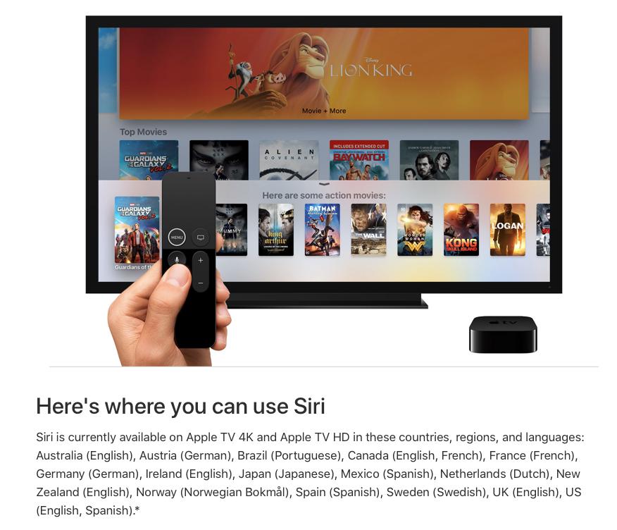 No Apple Support, Portugal não está na lista. | Fonte: Apple
