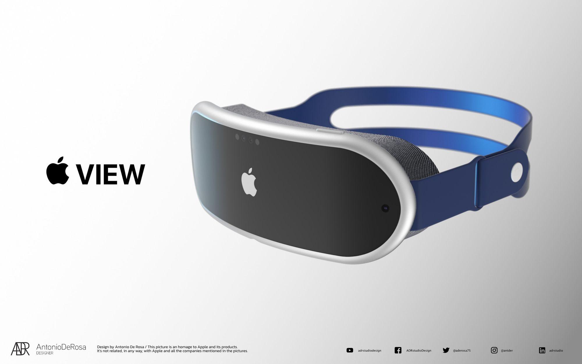 Apple View | Conceito de António de Rosa in Mac Rumors