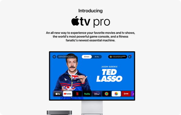 Conceito: reformulando a Apple TV